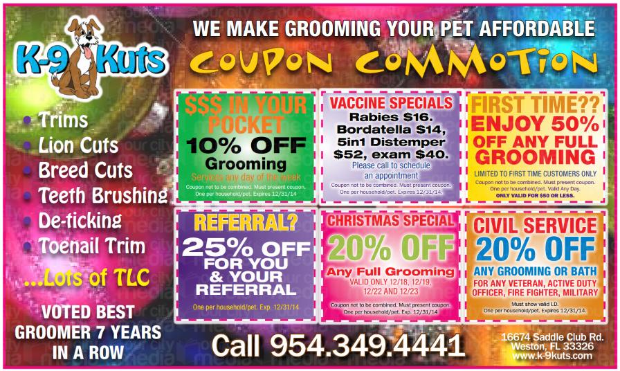 k-9 kuts coupons december 2014