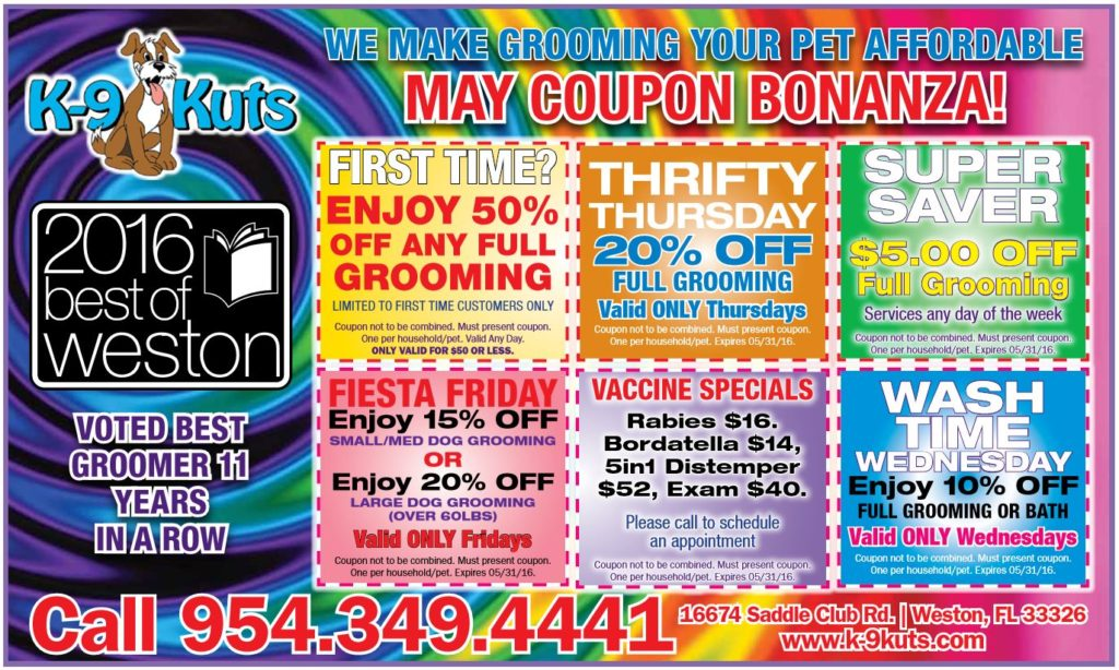 k-9-kuts-affordable-weston-dog-groomer-may-2016-coupons-special-prices